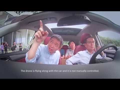 Alibaba CEO takes Jack Ma on a Test Ride of New Internet Car