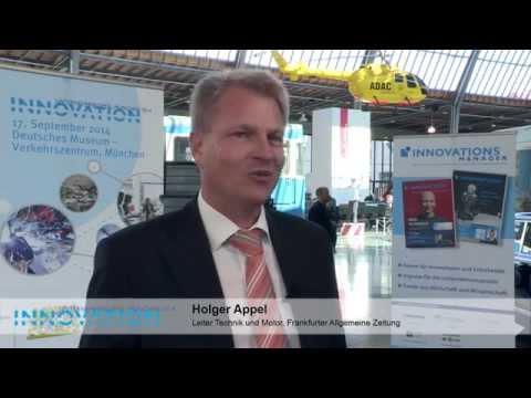 Holger Appel, Frankfurter Allgemeine Zeitung, Innovation-Unternehmergipfel 2014