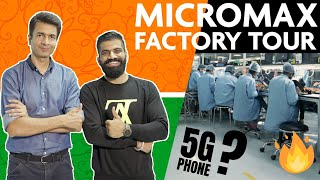 How Micromax IN Smartphones Are Made??? Micromax Factory Tour & Phone Testing🔥🔥🔥