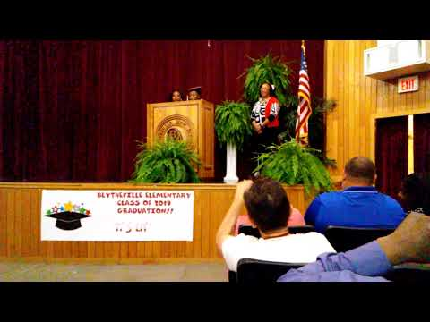 The Presentation of the Blytheville Elementary School 5th Class of 2019