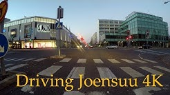 4K Driving Joensuu keskusta to VT 6  - original sound