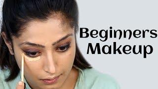 Step by Step Makeup Tutorial for Beginners - शुरुआत के लिए मेकअप ट्यूटोरियल