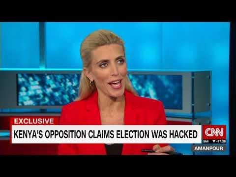 RAILA ODINGA CNN interview on 2017 Kenyan General Election