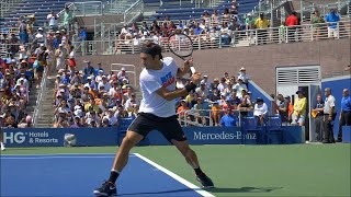 Roger Federer Ultimate Slow Motion Collection - ATP Tennis Forehand - Backhand - Serve - Volley