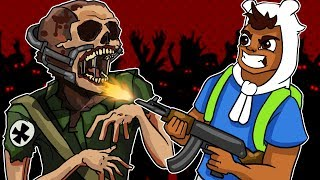 Call Of Duty World War II Zombies Funny Moments - Zombie Boss Glitch, Easter Egg!