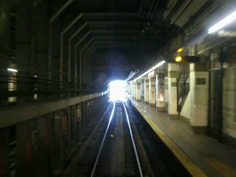 NYC Subway Flushing Line Jackson Ave to Hunters Point Eastbound