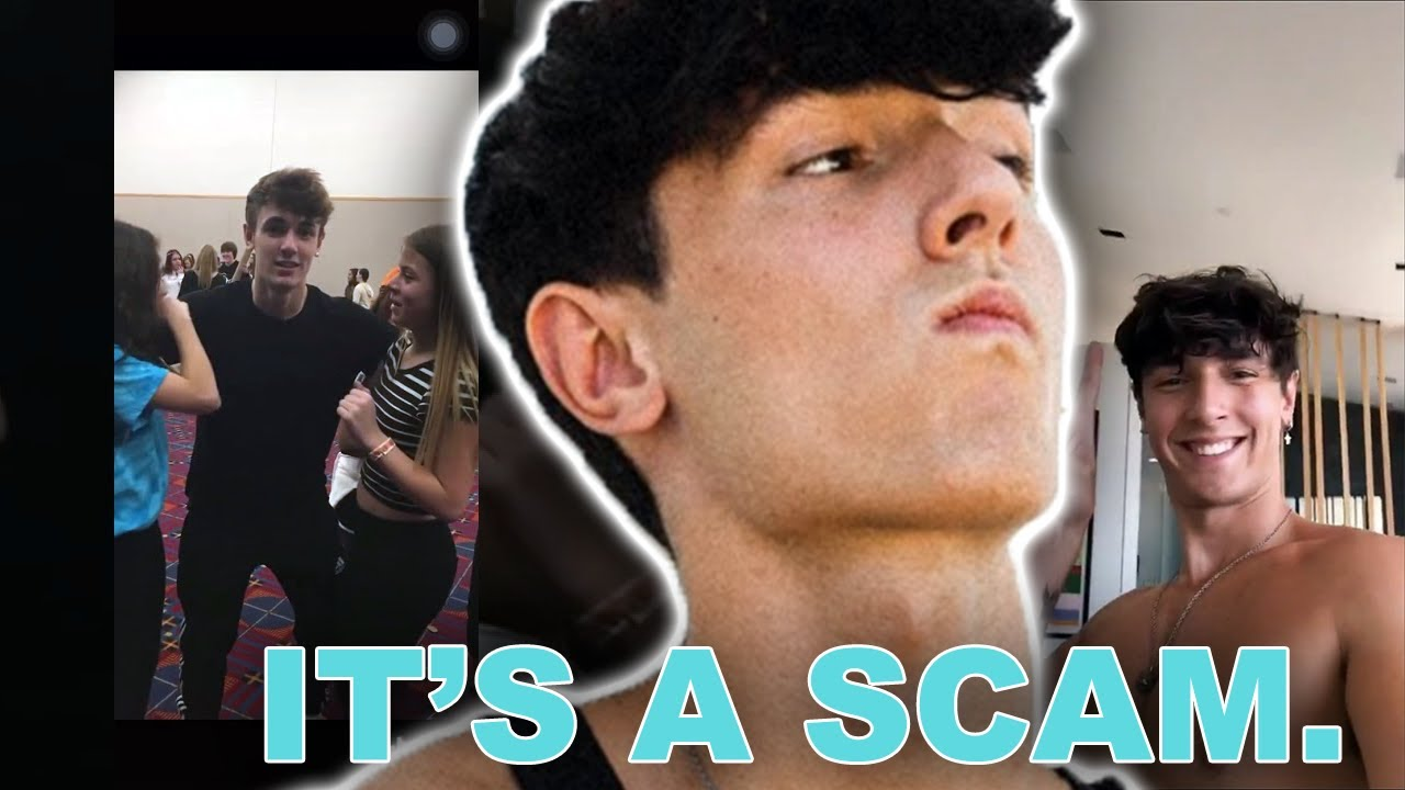 Bryce Hall SCAMS His Fans For Money?!   Hollywire