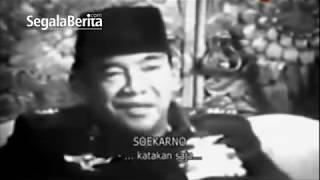 Wawancara Terakhir Presiden Soekarno Setelah G 30 S