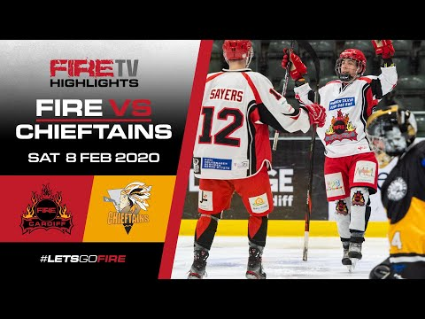 Cardiff Fire v Chelmsford Chieftains 08/02/20