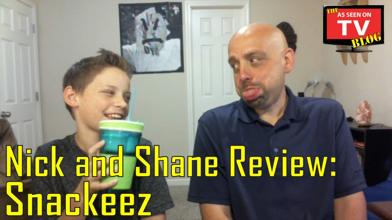 as seen on tv snackeez review with nick and shane youtube. Black Bedroom Furniture Sets. Home Design Ideas