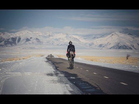 Bikepacking Across Kyrgyzstan in Winter