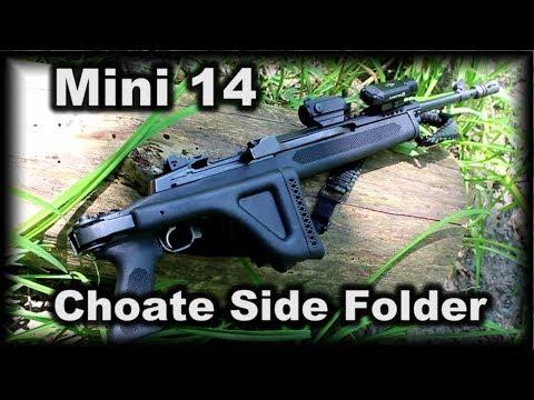 Mini 14 Choate Side Folding Stock Review