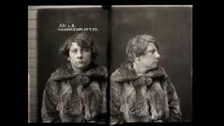 Vintage 1920's Female Mugshots