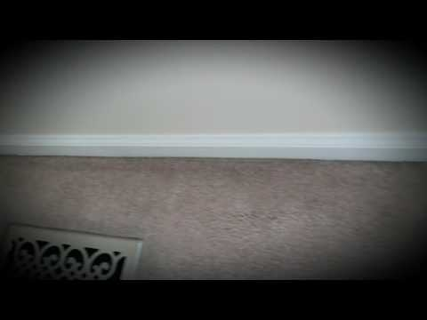 How to remove black on carpet edges around baseboards