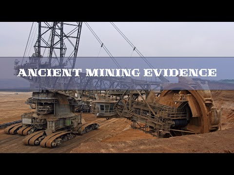 Ancient mining evidence