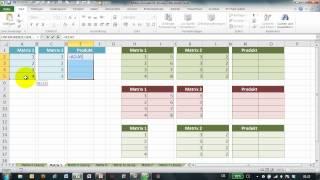 Excel # 275 - Matrix-Formeln - Teil 5 - Matrizen multiplizieren