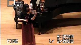 Mendelssohn Violin Concerto (movm't 1) - Walgreens Competition MYA division 2011