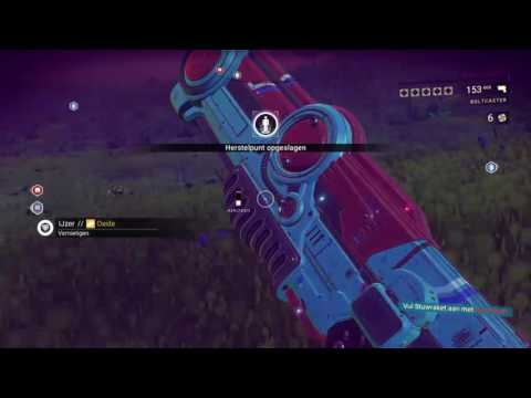 Live no man sky,exploring close to the center for the last hyperdrive