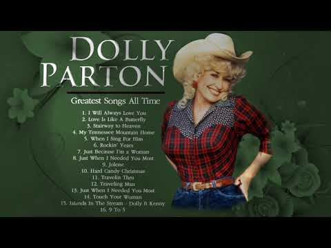 Dolly Parton Greatest Hits (Full album) - Best Songs Of Dolly Parton Country Women Playlist