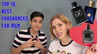 TOP 10 BEST FRAGRANCES FOR MEN JUDGED BY MY SISTER!
