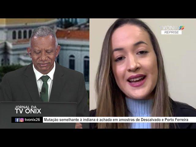 Jornal da TV Onix - Ao Vivo: 13/05/2021