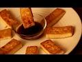 Pan-Fried Tofu With Dipping Sauce