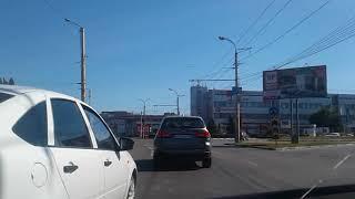 Очередной баран на кольце. Воронеж, Остужева.