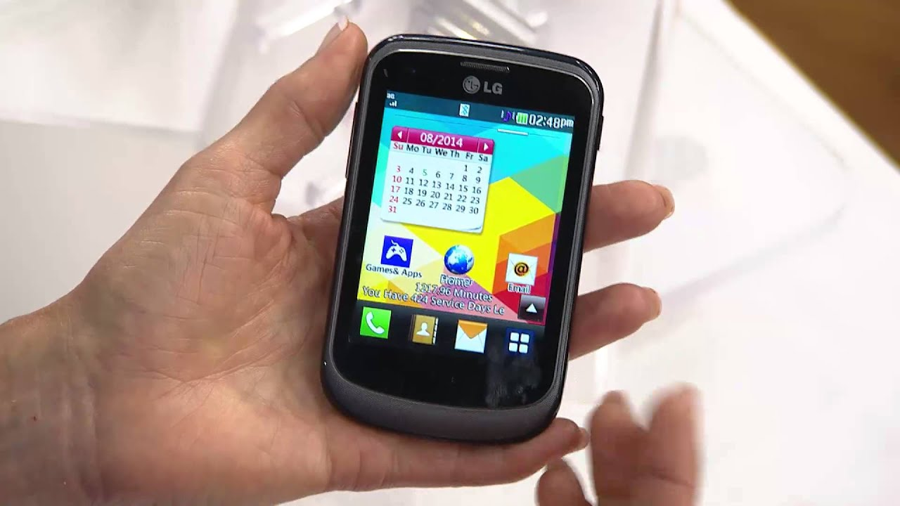 LG Tracfone Prepaid Cell Phone w/ 1500 Minutes & Protection Plan with Dan  Hughes