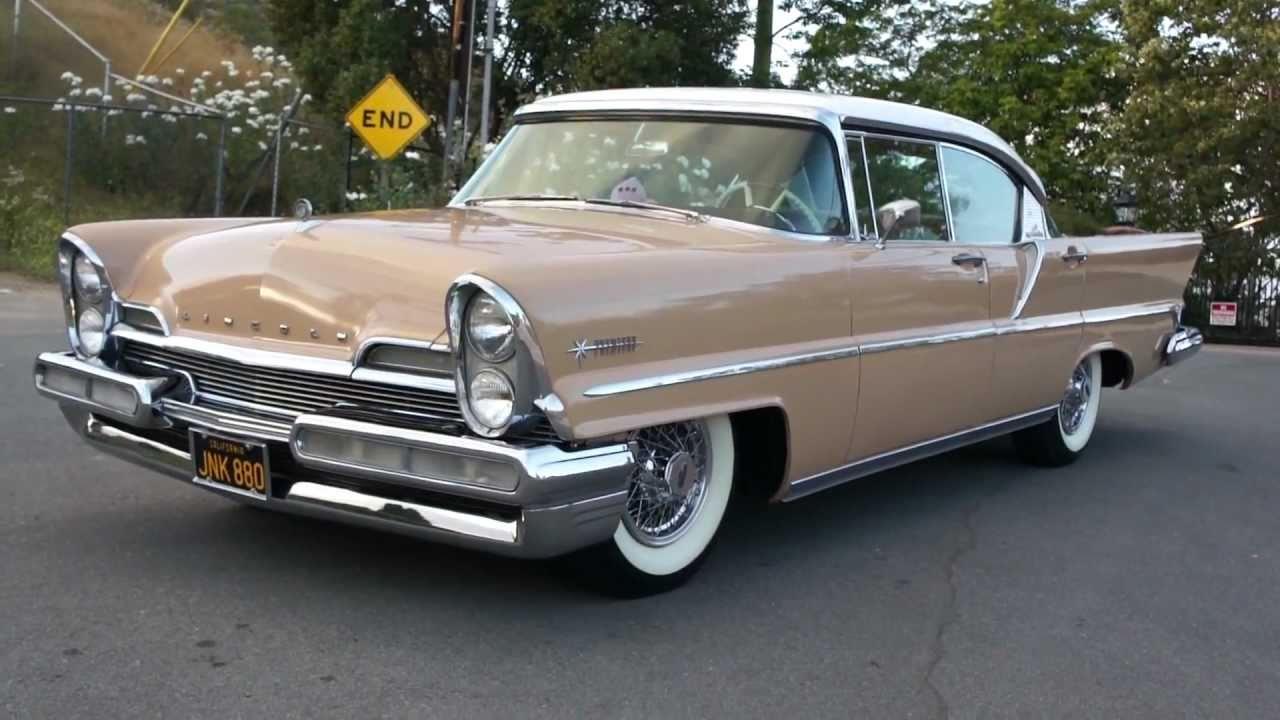 1957 Cars Restored Or Wallpapers 1957 Lincoln Premiere Landau Premire Hardtop Saloon