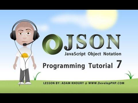 json tutorial for beginners part 7 Ajax PHP MySQL Data Request Programming