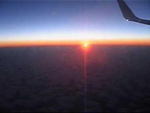 Flying to Leipzig
