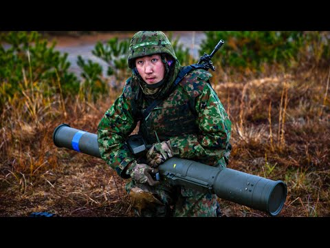 Japanese Military Training With U S  Marines . Forest Light 2019 MOUT Training