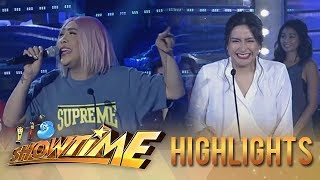 It's Showtime PUROKatatawanan: Mariel asks Vice Ganda who the solid Kapamilya is