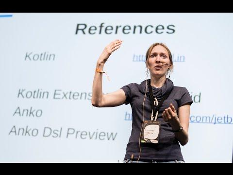 #droidconDE 2015: Svetlana Isakova – Kotlin: the swift of Android on YouTube