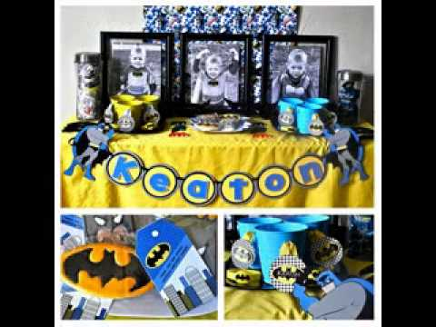 DIY Baby Boy Birthday Party Themes Ideas