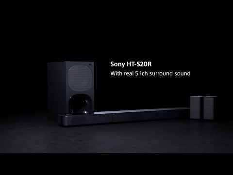 Sony | HT-S20R | 5.1ch Home Cinema System with Bluetooth®