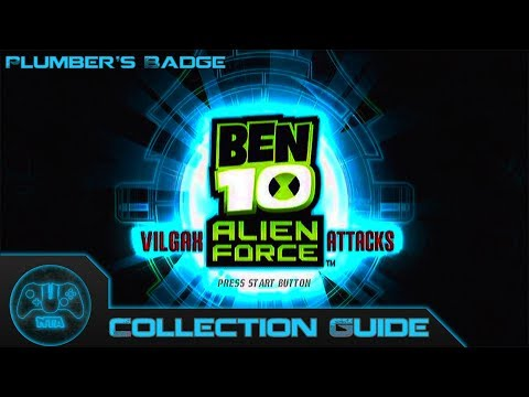 Ben 10 Alien Force Vilgax Attacks Plumber's Badge Locations