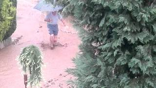 Bouřka v Kyjově
