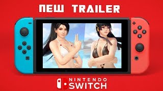 Dead or Alive Xtreme 3: Scarlet - Nyotengu & Momiji Nuevo Trailer Nintendo Switch HD