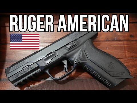 Ruger American 9mm Pistol Review