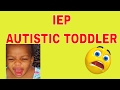 Individual Education Plan,(IEP) Meeting for autistic toddler