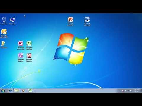Cách Sử Dụng Windows 7 #08 | Cách Sắp Xếp Các Biểu Tượng Trên Màn Hình Desktop