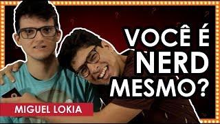 DESAFIO NERD COM MIGUEL LOKIA   CABEÇA DE FERRO #001