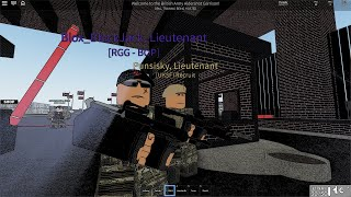 Ally at the Academy! British Army - ROBLOX