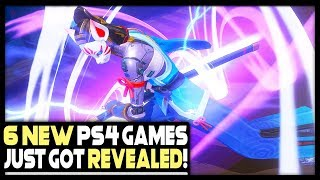 6 SICK NEW PS4 GAMES JUST GOT REVEALED!