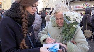 Смотреть видео Требуем расследовать убийство Немцова! - отправлено Пан Ги Муну онлайн