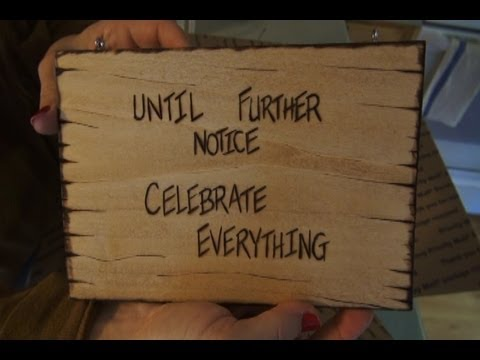 Hot Gifts- Wood Burning Signs - YouTube