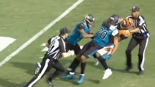 The 10 CRAZIEST NFL In-Game Fights Ever