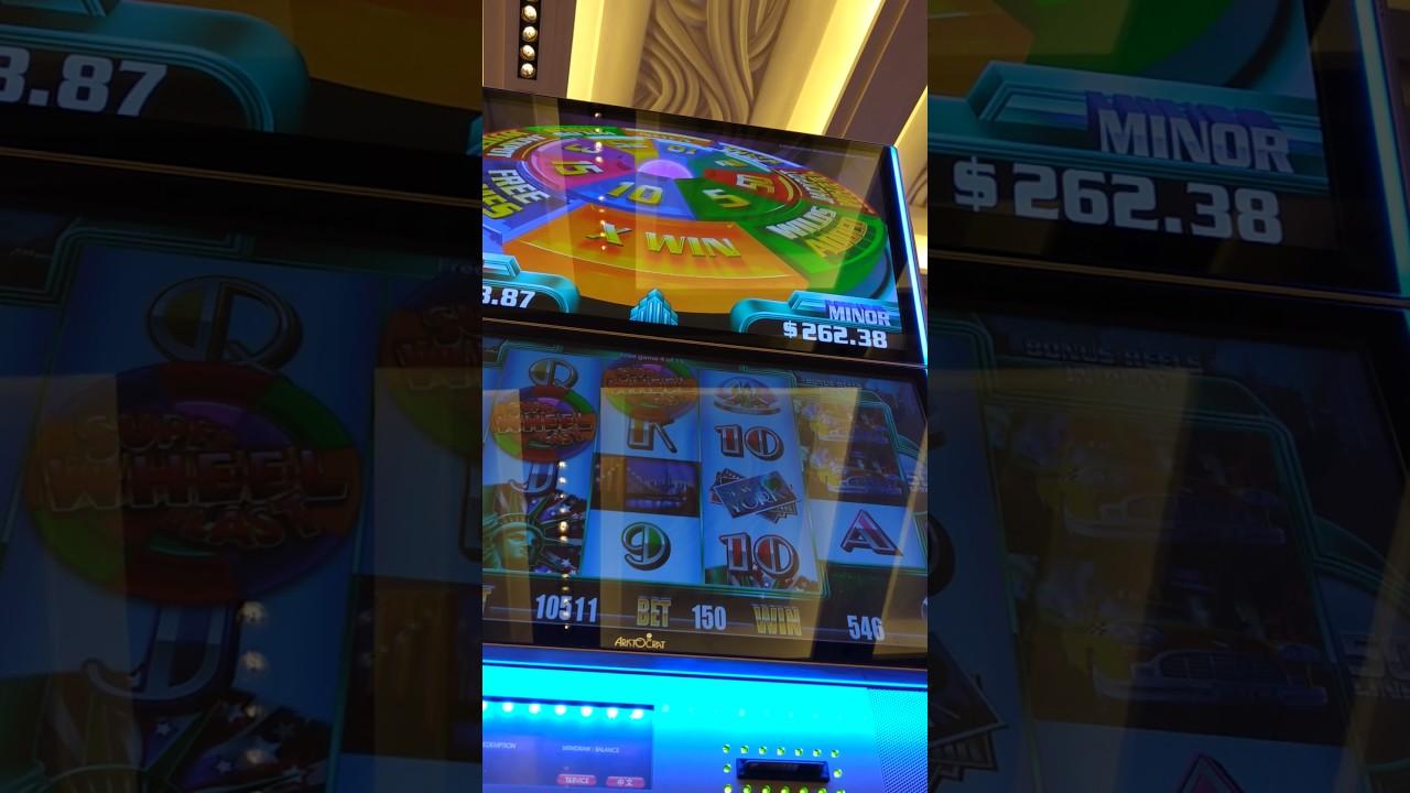 Super wheel blast BONUSGAME in the Rio casino in Macau China