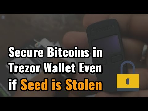 How To Secure Your Bitcoins in Trezor Wallet Even if Seed is Stolen [Must know] from YouTube · High Definition · Duration:  5 minutes 12 seconds  · 1.000+ views · uploaded on 16.08.2017 · uploaded by CoinSutra - Simplifying Bitcoin & Cryptocurrency